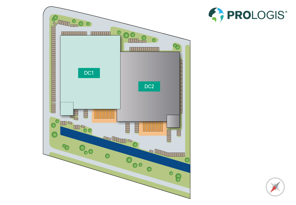 Hall Plan Prologis Park Douglassingel