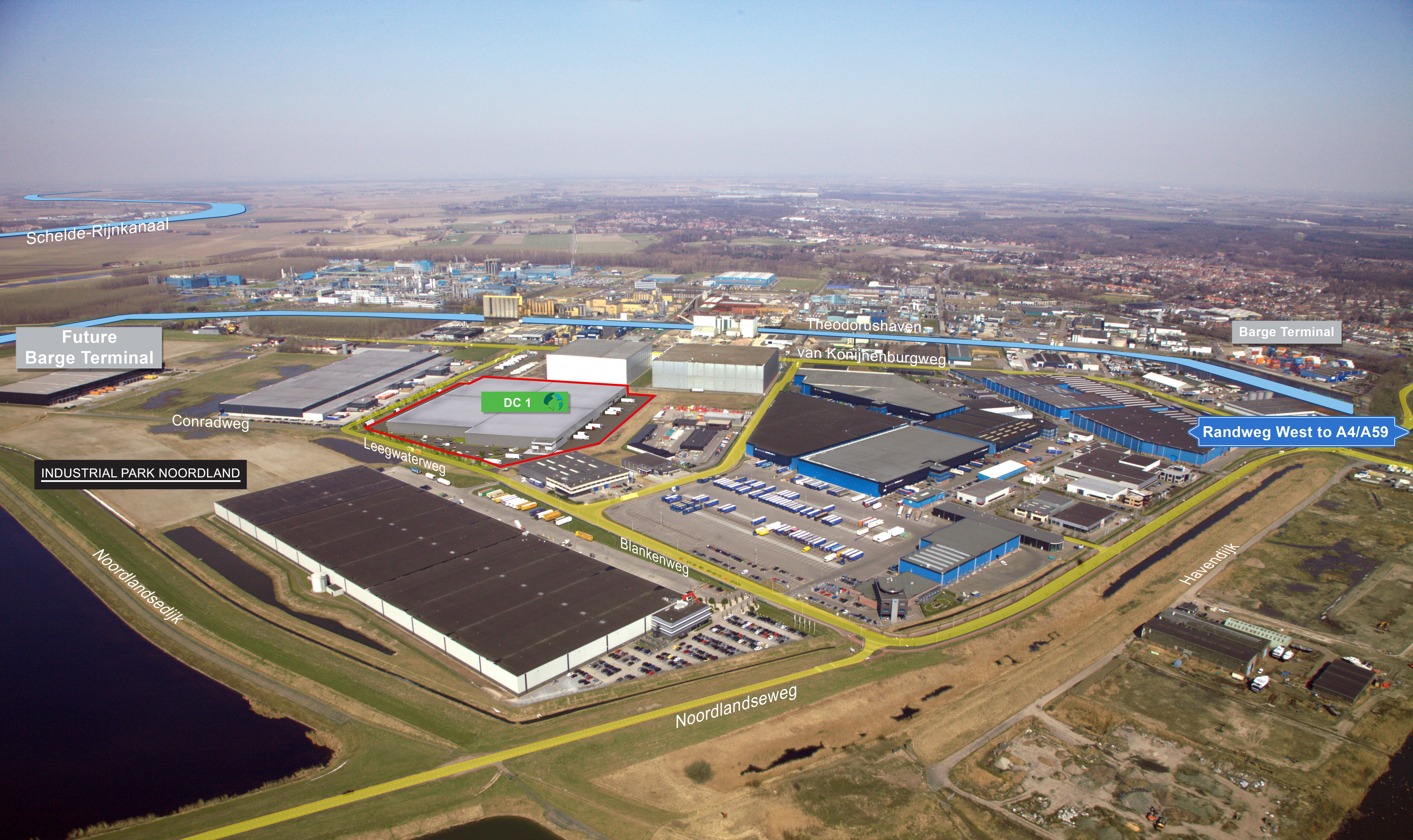 Bird's-Eye View Prologis Park Bergen op Zoom