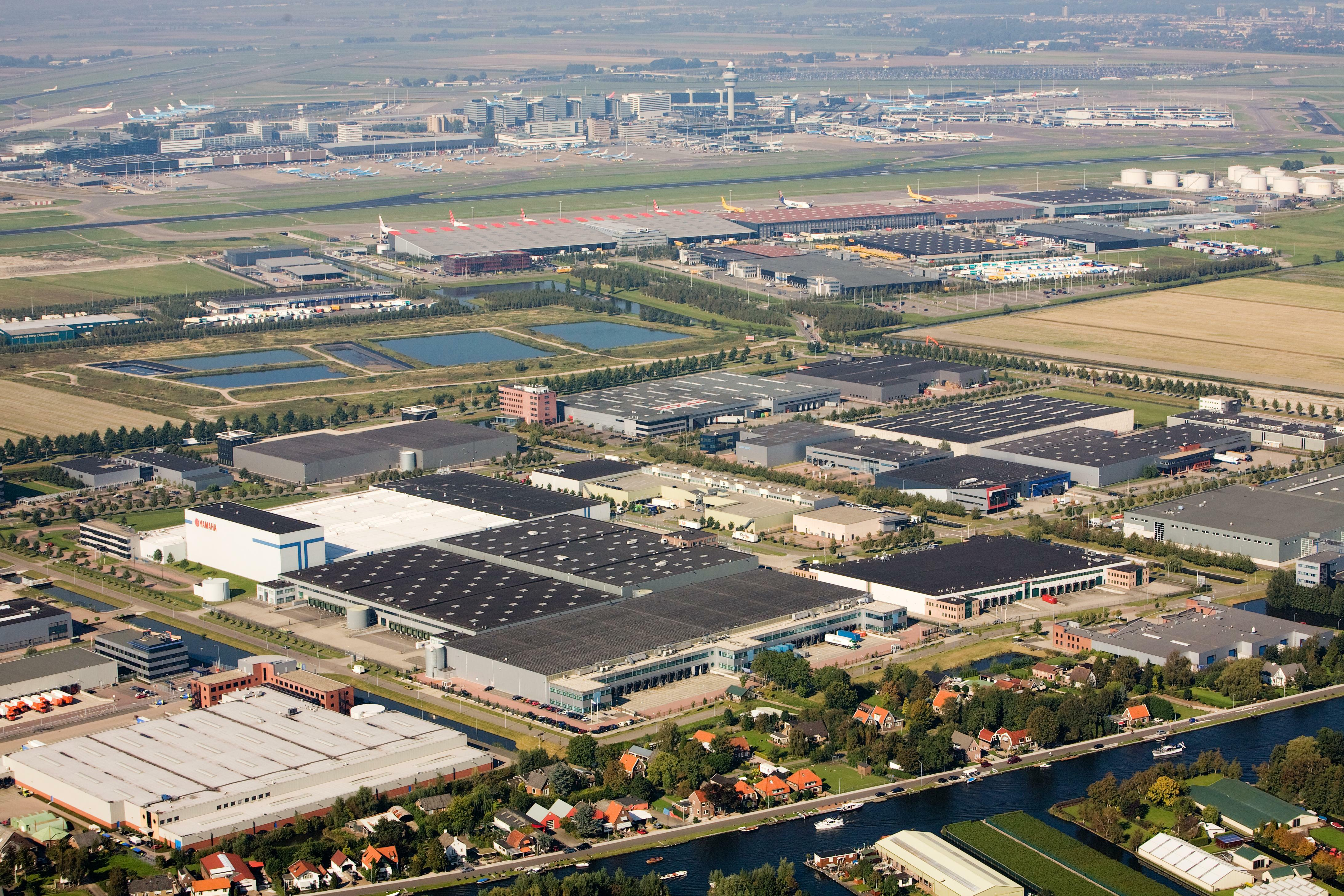 Bird's-Eye View Prologis Park Douglassingel