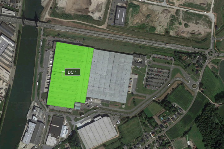 Bird's-Eye View Prologis Park Willebroek