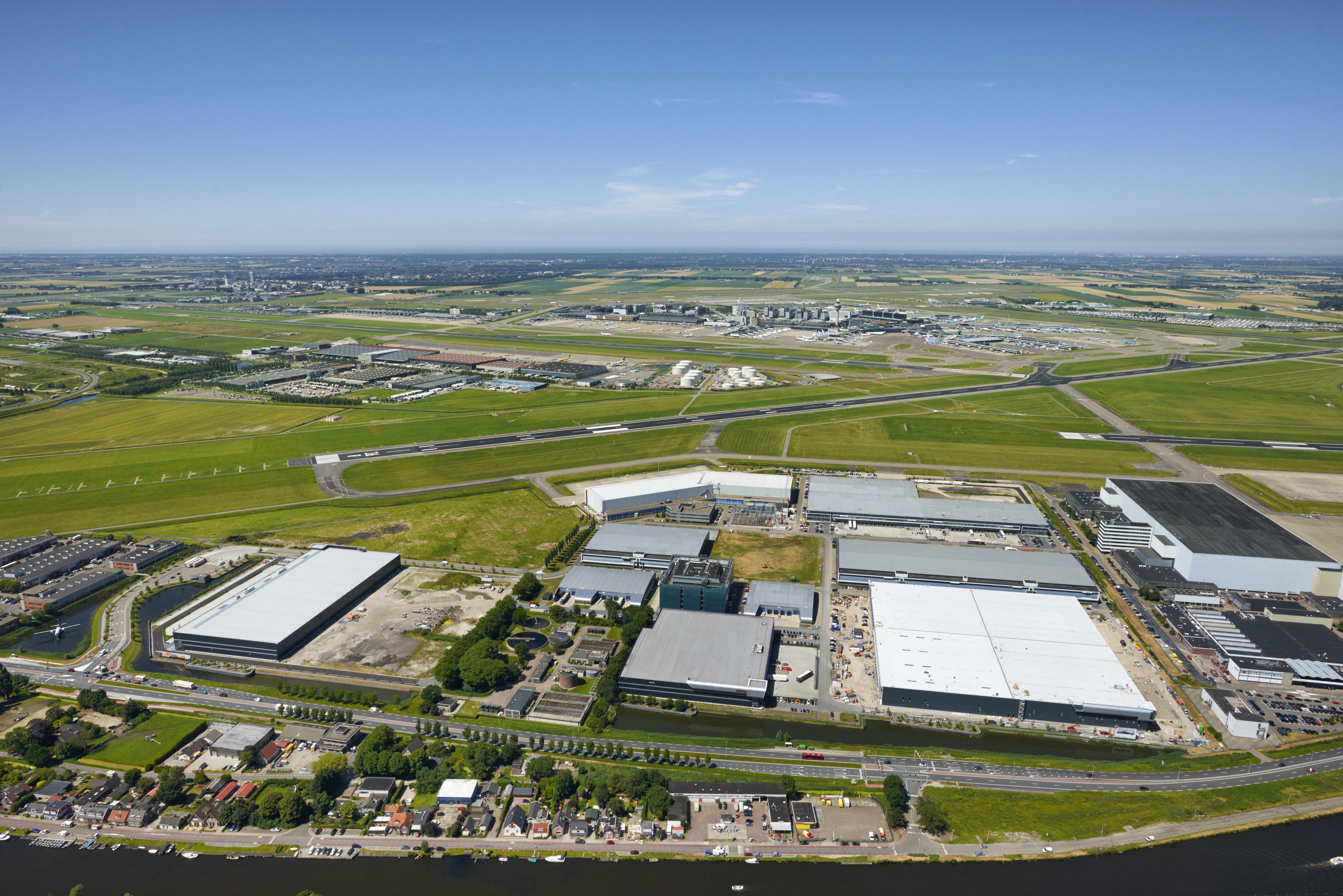 Bird's-Eye View Prologis Fokker Park