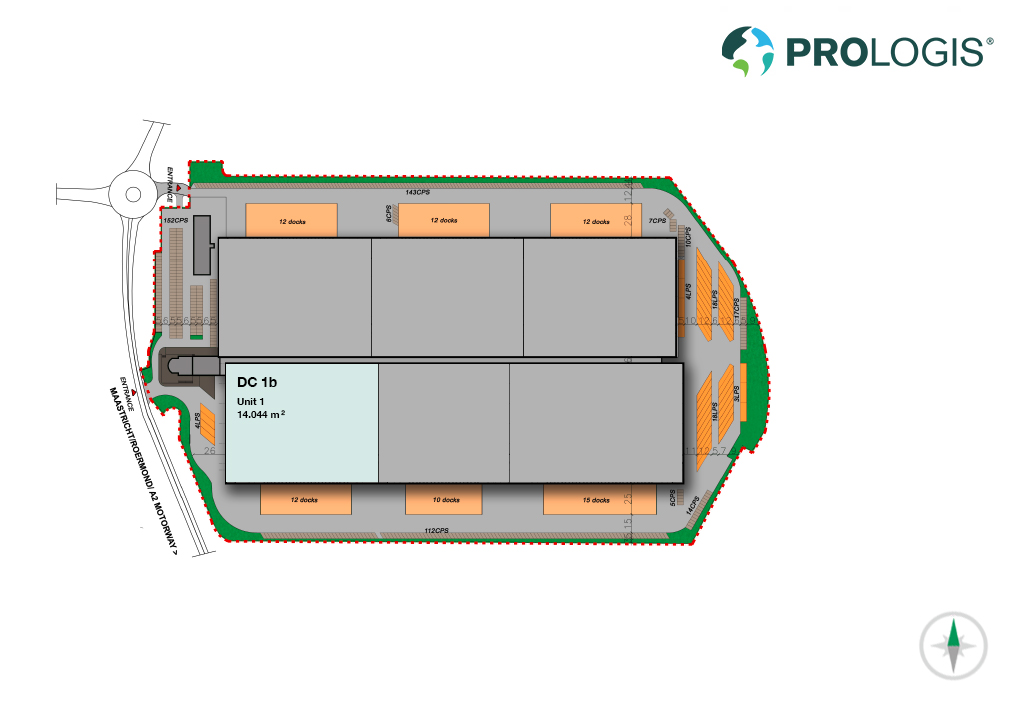 Hall Plan Prologis Park Born DC1b