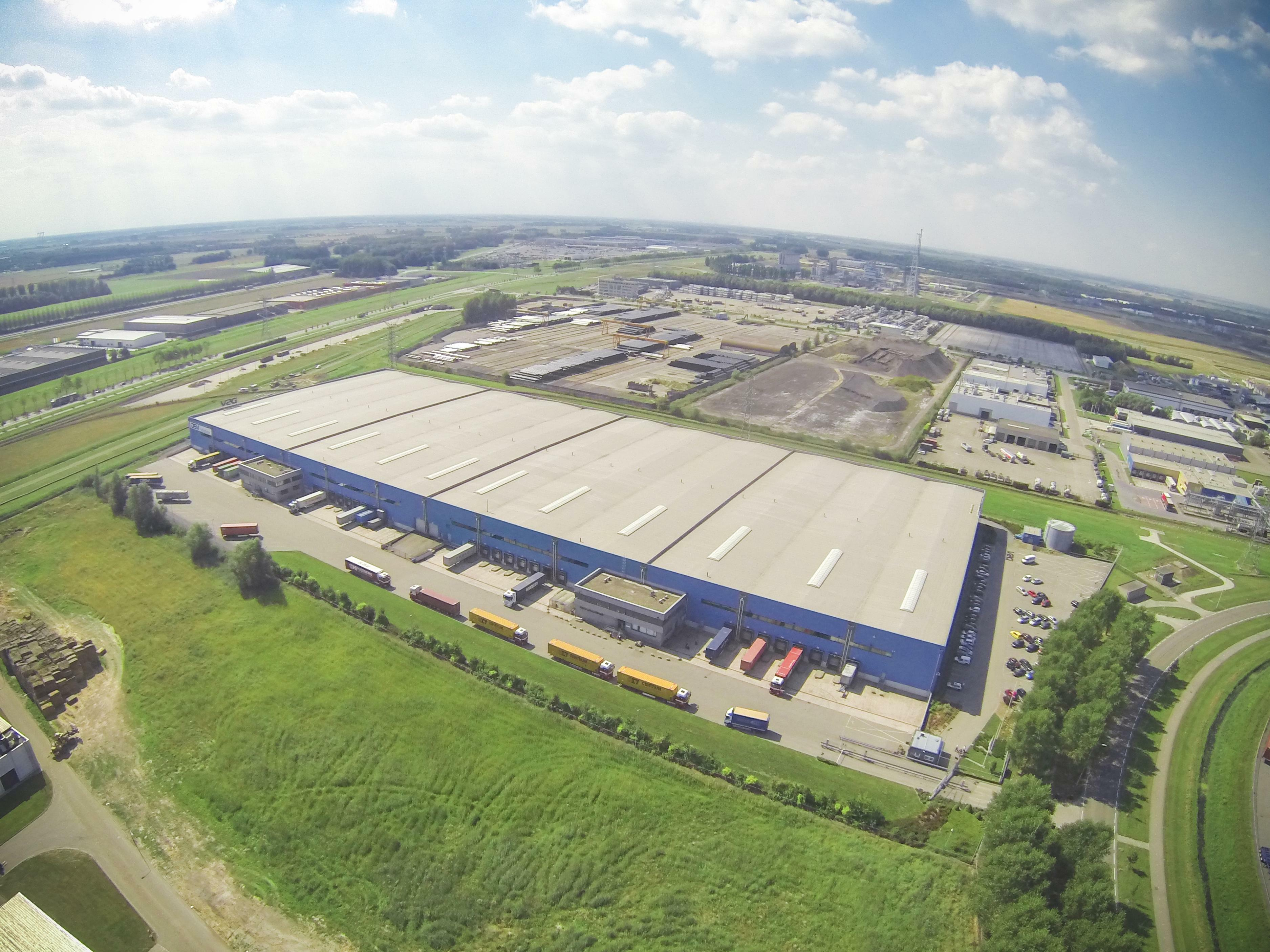Bird's-Eye View Prologis Park Moerdijk DC4