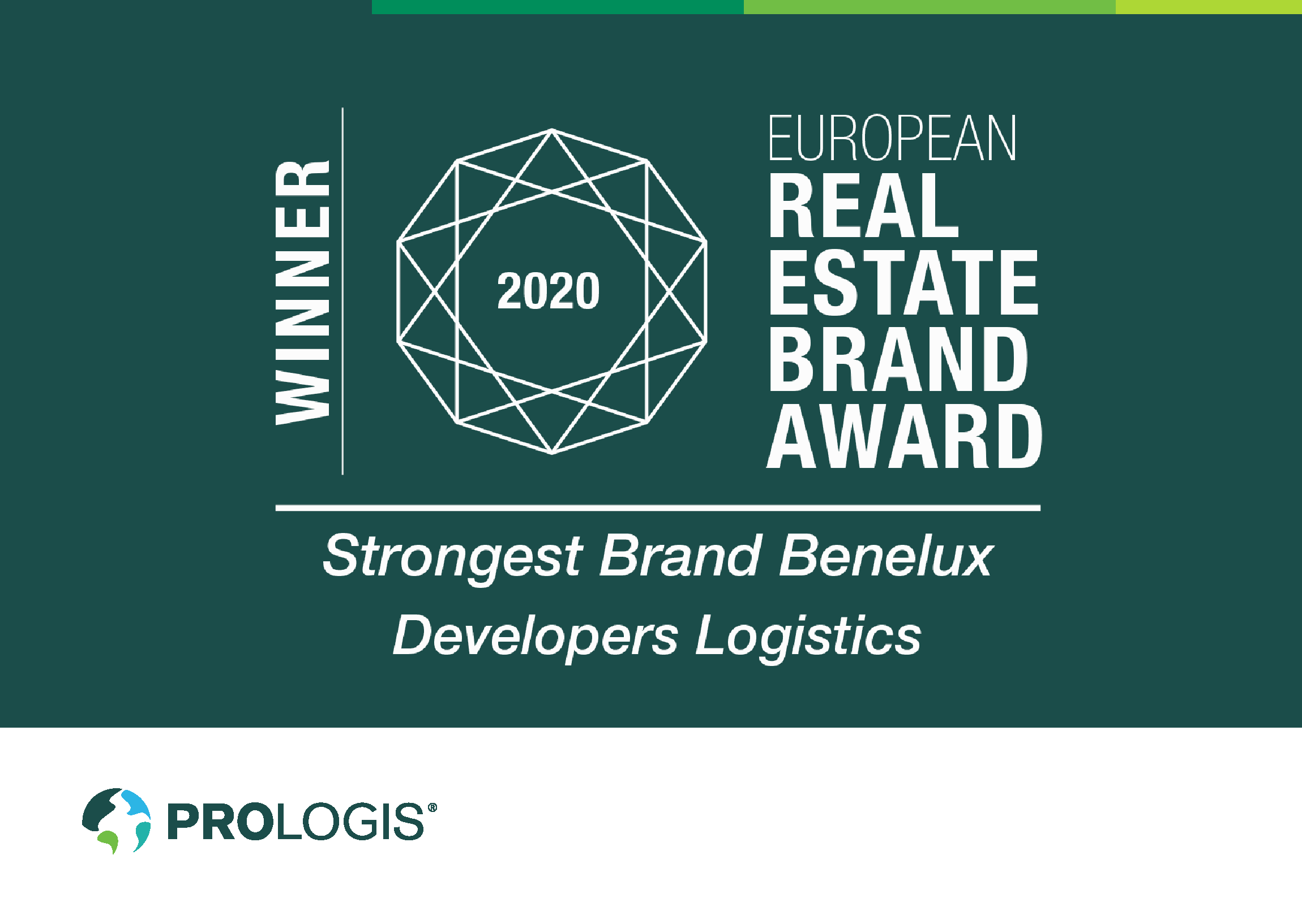 Benelux real estate brand award