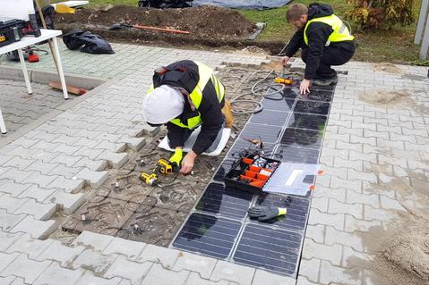 Prologis and Platio Test World's First Solar Sidewalk Paving System at a Logistics Park