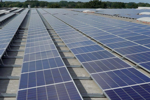 Prologis partnership met Sunrock zonnepanelen