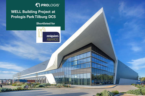 Prologis Park Tilburg DC5 shortlisted for MIPIM Awards 2019