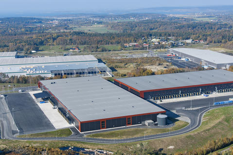 The new 120 000 sqm large Prologis Gothenburg Park II on Hisingen, Gothenburg.