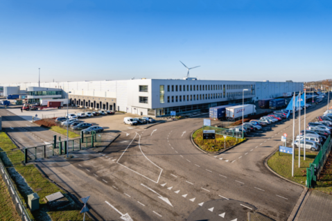 The new 82.700 sqm large Prologis warehouse in Tilburg
