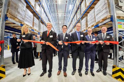 Opening of distribution center Muggensturm