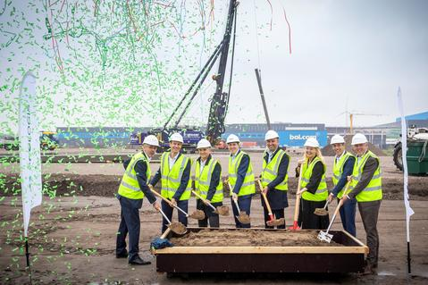 Groundbreaking Tarkett & Prologis
