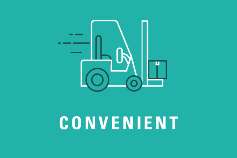 Forklifts - convenient