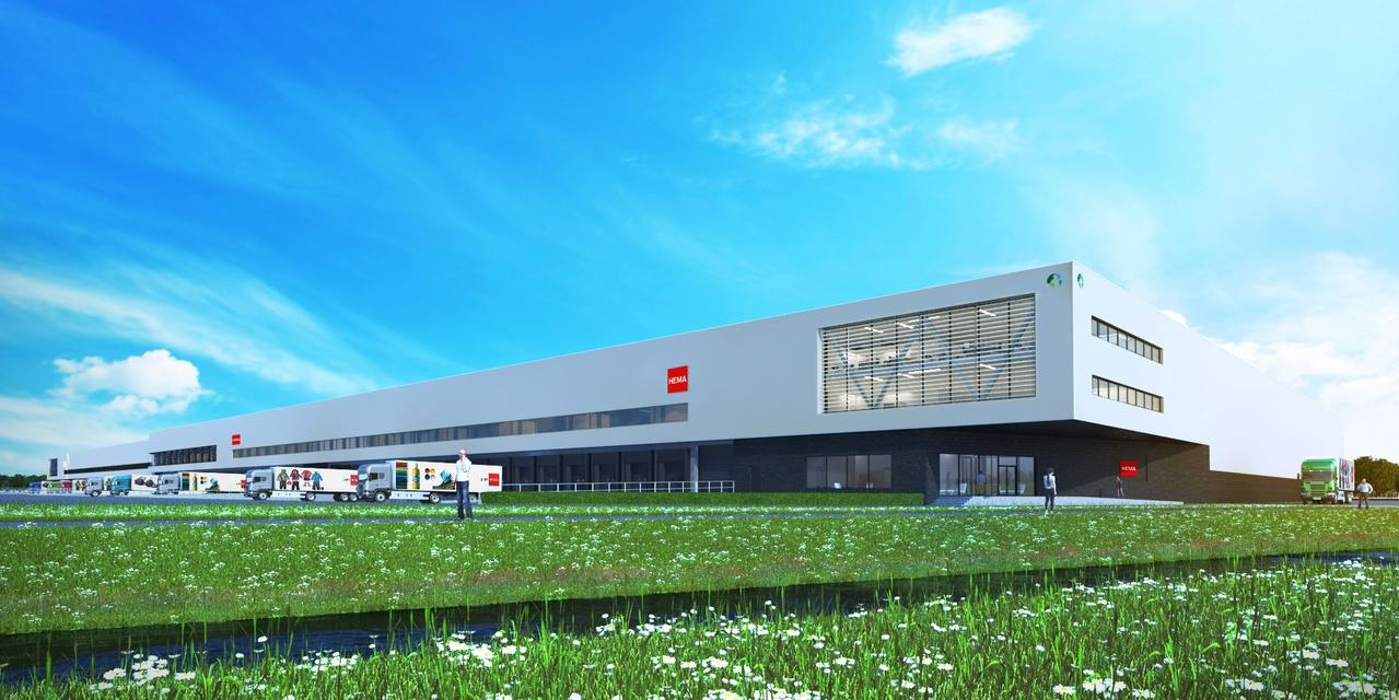 34.000 square meter distribution facility for Hema in Nieuwegein